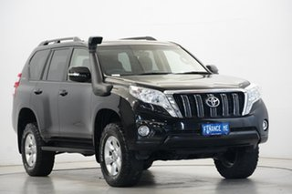 2016 Toyota Landcruiser Prado GDJ150R GXL Black 6 Speed Sports Automatic Wagon