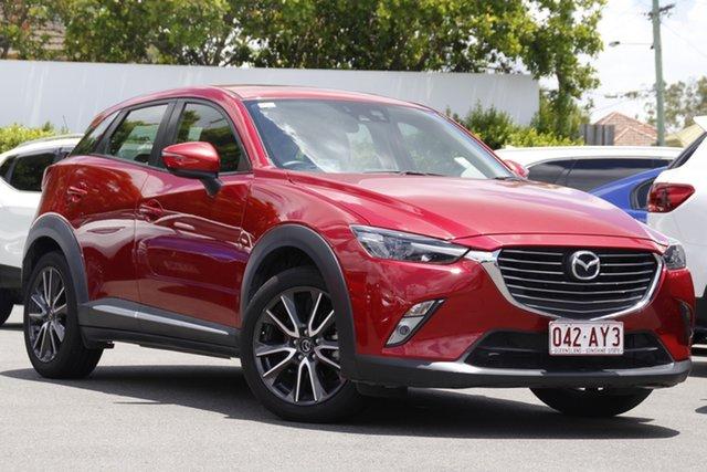 Used Mazda CX-3 DK2W7A Akari SKYACTIV-Drive Mount Gravatt, 2016 Mazda CX-3 DK2W7A Akari SKYACTIV-Drive Red 6 Speed Sports Automatic Wagon