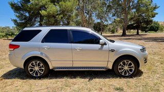 2016 Ford Territory SZ MkII TS Seq Sport Shift Silver 6 Speed Sports Automatic Wagon