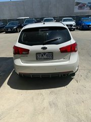 2012 Kia Cerato TD MY12 SLi White 6 Speed Sports Automatic Hatchback