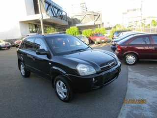 2007 Hyundai Tucson City Black 4 Speed Auto Selectronic Wagon.