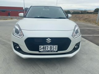 2017 Suzuki Swift AZ GLX Turbo White 6 Speed Sports Automatic Hatchback.