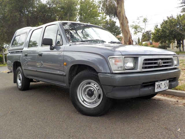Used Toyota Hilux RZN149R 4x2 Broadview, 2000 Toyota Hilux RZN149R 4x2 Pewter 5 Speed Manual Utility