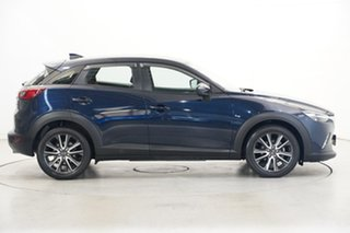 2017 Mazda CX-3 DK2W7A sTouring SKYACTIV-Drive Dark Blue 6 Speed Sports Automatic Wagon