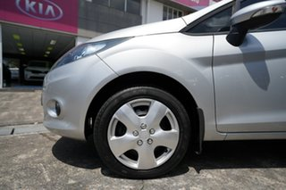 2011 Ford Fiesta WT CL PwrShift Silver 6 Speed Sports Automatic Dual Clutch Hatchback.