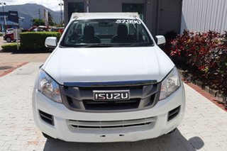 2015 Isuzu D-MAX MY15 SX White 5 Speed Sports Automatic Cab Chassis.