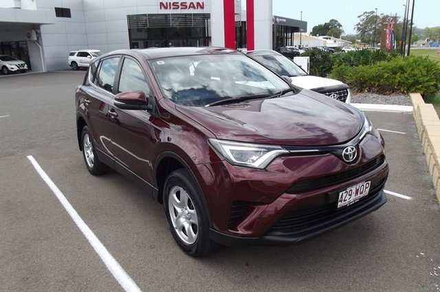 Used Toyota RAV4 ASA44R GX AWD South Gladstone, 2016 Toyota RAV4 ASA44R GX AWD Red 6 Speed Sports Automatic Wagon