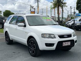 2011 Ford Territory SY MkII TX White 4 Speed Sports Automatic Wagon.