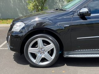 2009 Mercedes-Benz M-Class W164 MY10 ML350 CDI BlueEFFICIENCY AMG Sports Black 7 Speed