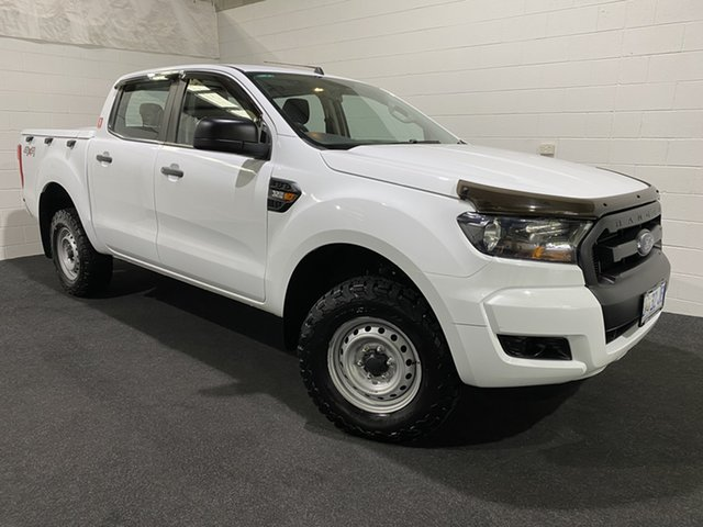 Used Ford Ranger PX MkII XL Plus Glenorchy, 2017 Ford Ranger PX MkII XL Plus White 6 Speed Sports Automatic Cab Chassis
