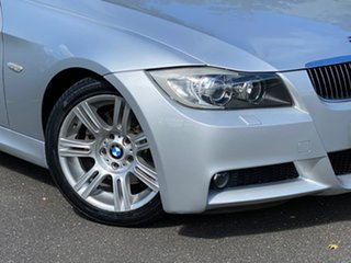 2008 BMW 3 Series E91 MY08 323i Touring Steptronic Silver 6 Speed Sports Automatic Wagon