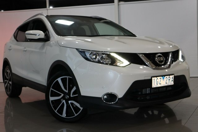 Used Nissan Qashqai J11 TI Deer Park, 2016 Nissan Qashqai J11 TI White 1 Speed Constant Variable Wagon