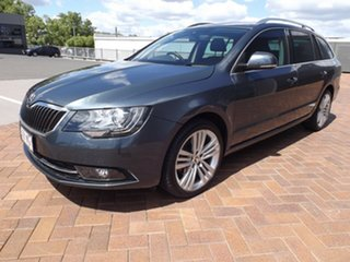 2015 Skoda Superb 3T MY15 Ambition DSG 118TSI Grey 7 Speed Sports Automatic Dual Clutch Wagon