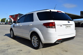 2015 Ford Territory SZ MkII TX Seq Sport Shift AWD White 6 Speed Sports Automatic Wagon.