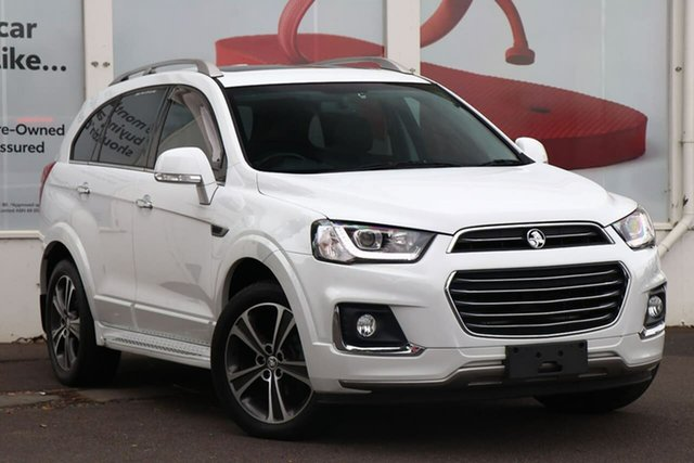 Pre-Owned Holden Captiva CG MY17 LTZ AWD Ferntree Gully, 2017 Holden Captiva CG MY17 LTZ AWD White 6 Speed Sports Automatic Wagon