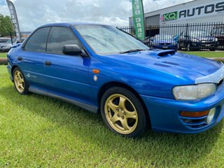 1998 Subaru Impreza N MY98 WRX AWD Blue 5 Speed Manual Sedan.