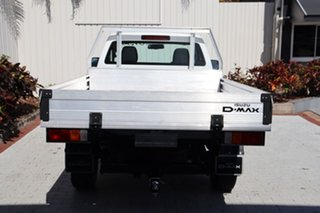 2015 Isuzu D-MAX MY15 SX White 5 Speed Sports Automatic Cab Chassis