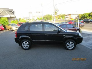 2007 Hyundai Tucson City Black 4 Speed Auto Selectronic Wagon