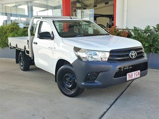 2018 Toyota Hilux White 5 Speed Manual Utility.