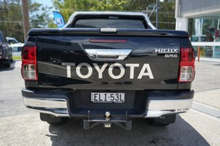 2017 Toyota Hilux GUN126R SR5 Double Cab Black 6 Speed Manual Utility
