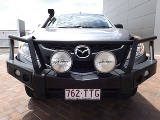 2013 Mazda BT-50 UP0YF1 XT Grey 6 Speed Manual Cab Chassis