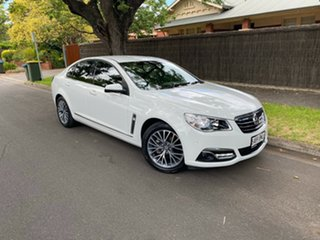 2016 Holden Calais VF II MY16 White 6 Speed Sports Automatic Sedan.
