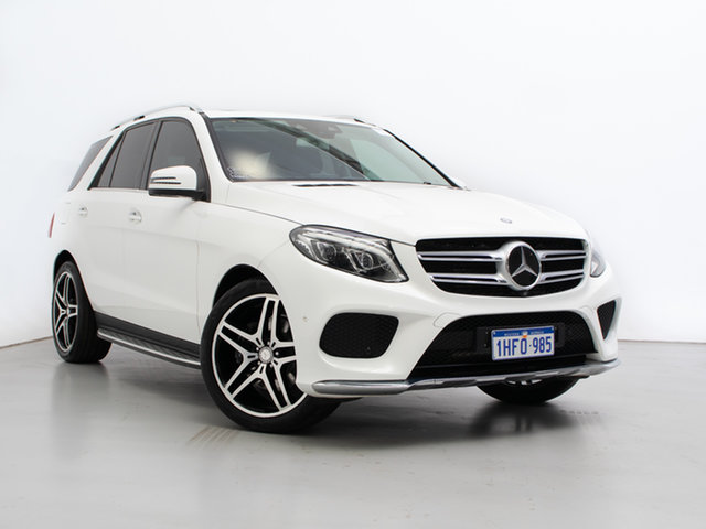Used Mercedes-Benz GLE350d 4Matic 166 MY17 , 2016 Mercedes-Benz GLE350d 4Matic 166 MY17 White 9 Speed Automatic Wagon