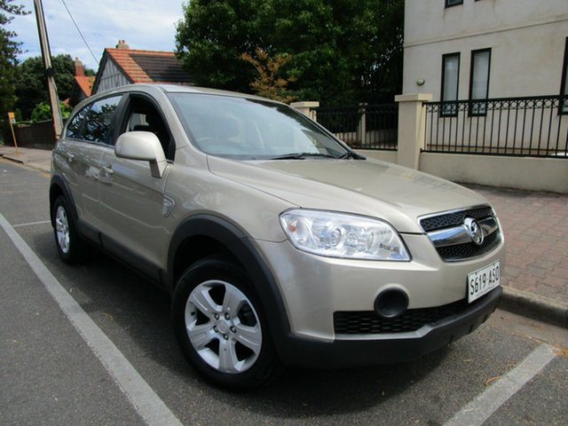 Used Holden Captiva CG MY10 SX (4x4) Glenelg, 2009 Holden Captiva CG MY10 SX (4x4) Brown 5 Speed Automatic Wagon