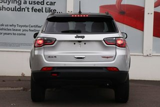 2018 Jeep Compass M6 MY18 Trailhawk Silver 9 Speed Automatic Wagon