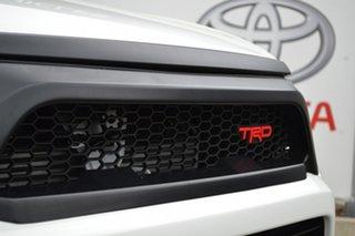 2017 Toyota Hilux GUN126R TRD White (4x4) Glacier White 6 Speed Automatic Dual Cab Utility.
