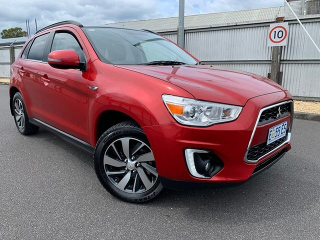 Used Mitsubishi ASX XB MY15 XLS 2WD Moonah, 2014 Mitsubishi ASX XB MY15 XLS 2WD Red 6 Speed Constant Variable Wagon