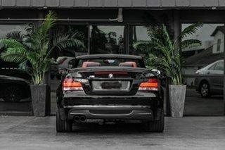 2008 BMW 1 Series E88 135i Steptronic Black 6 Speed Sports Automatic Convertible