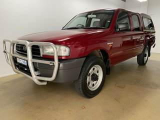 2000 Mazda B2600 Bravo DX (4x4) Red 5 Speed Manual Dual Cab Pick-up