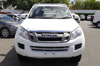 2014 Isuzu D-MAX MY15 SX White 5 Speed Manual Cab Chassis.