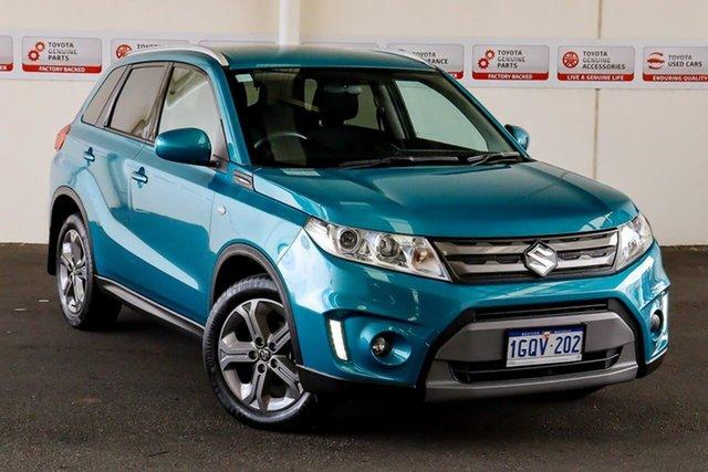 Pre-Owned Suzuki Vitara LY RT-S Rockingham, 2018 Suzuki Vitara LY RT-S Turquoise 6 Speed Automatic Wagon