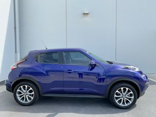 2016 Nissan Juke F15 Series 2 Ti-S X-tronic AWD Blue 1 Speed Constant Variable Hatchback.