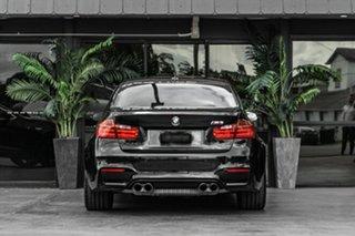 2015 BMW M3 F80 LCI M-DCT Black 7 Speed Sports Automatic Dual Clutch Sedan