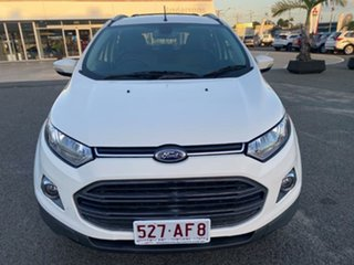 2015 Ford Ecosport BK Titanium PwrShift White 6 Speed Sports Automatic Dual Clutch Wagon