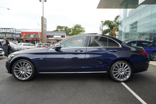 2017 Mercedes-Benz C350 205 MY17.5 E (Hybrid) Cavansite Blue 7 Speed Automatic Sedan