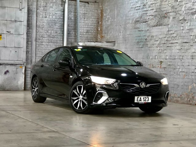 Used Holden Commodore ZB MY18 RS Liftback AWD Mile End South, 2018 Holden Commodore ZB MY18 RS Liftback AWD Black 9 Speed Sports Automatic Liftback