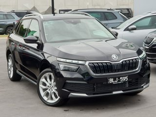 2020 Skoda Kamiq NW MY21 85TSI DSG FWD Black 7 Speed Sports Automatic Dual Clutch Wagon