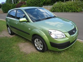 2008 Kia Rio JB LX Green 5 Speed Manual Hatchback