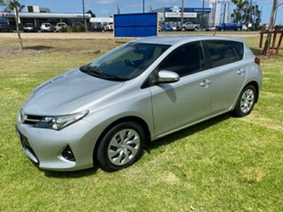 2013 Toyota Corolla ZRE182R Ascent Silver 6 Speed Manual Hatchback