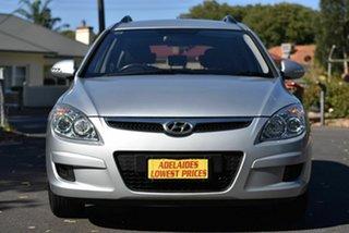 2009 Hyundai i30 FD MY09 SX cw Wagon Silver 4 Speed Automatic Wagon.