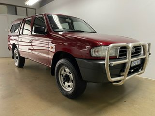 2000 Mazda B2600 Bravo DX (4x4) Red 5 Speed Manual Dual Cab Pick-up.