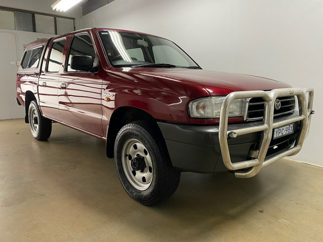Used Mazda B2600 Bravo DX (4x4) Phillip, 2000 Mazda B2600 Bravo DX (4x4) Red 5 Speed Manual Dual Cab Pick-up