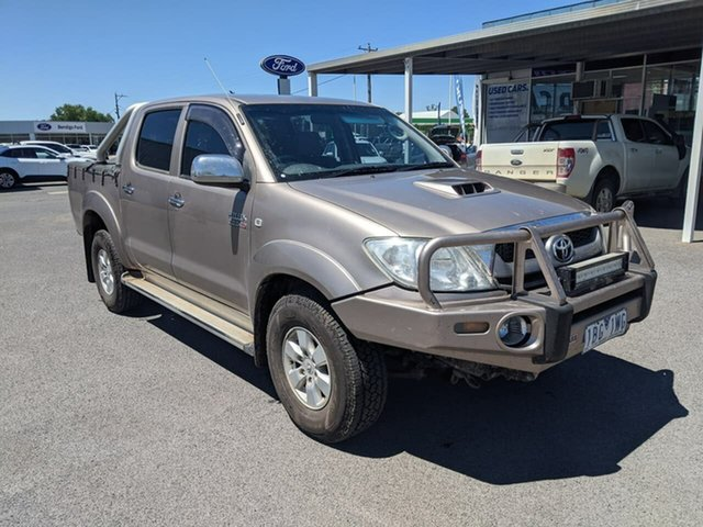 Used Toyota Hilux Epsom, 2010 Toyota Hilux SR5 Gold 4 Speed Automatic Utility