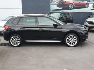 2020 Skoda Kamiq NW MY21 85TSI DSG FWD Black 7 Speed Sports Automatic Dual Clutch Wagon.