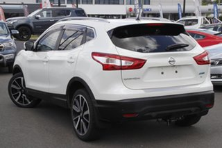 2015 Nissan Qashqai J11 TL White 1 Speed Constant Variable Wagon.