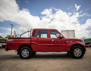 2020 Mahindra Pik-Up MY20 4WD S10+ Red Rage 6 Speed Manual Dual Cab Utility.